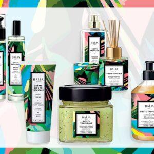 """Collection Sieste tropicale """"cédrat petit grain"""""""